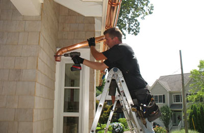 Gutter installation in Atlanta